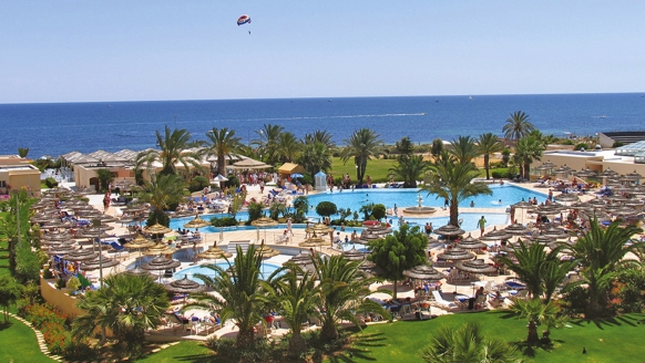 Hotel Sentido Bellevue Park Sousse, Pollandschaft