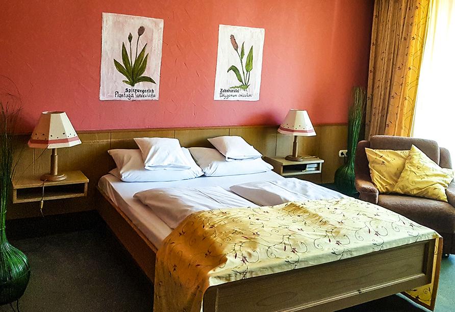 WAGNERS Hotel Schönblick in Fichtelberg, Beispiel Familienzimmer