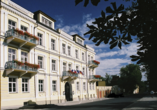 Kurhaus Sevilla in Franzensbad, Böhmisches Bäderdreieck, Tschechien, Außenansicht