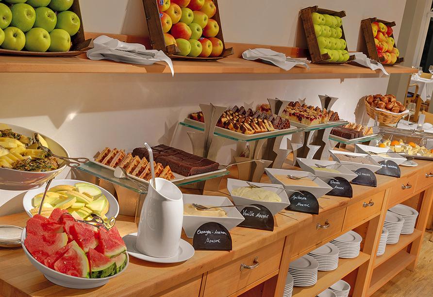 Precise Resort Marina Wolfsbruch, Frühstücksbuffet