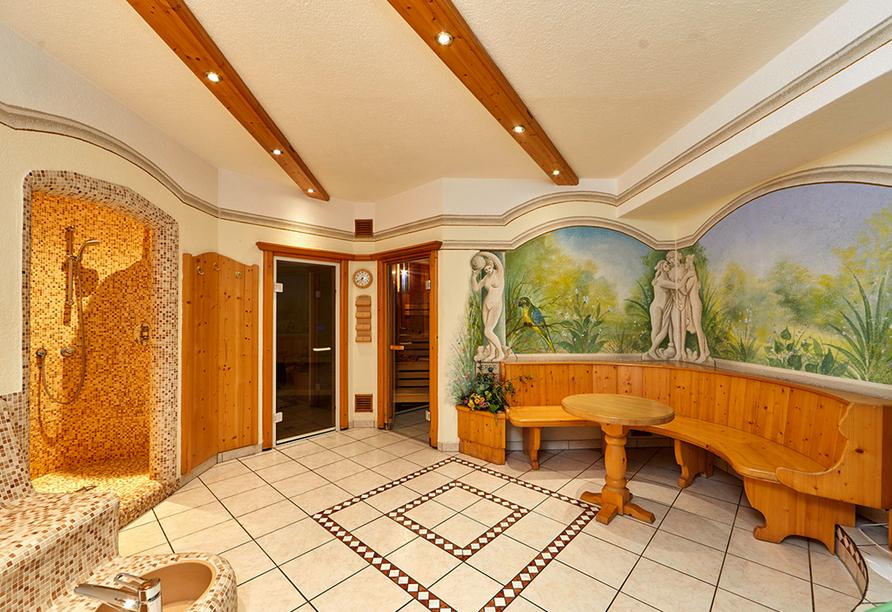 Hotel Linderhof in Erfurt, Saunabereich