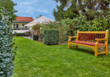 Hotel Linderhof in Erfurt, Garten