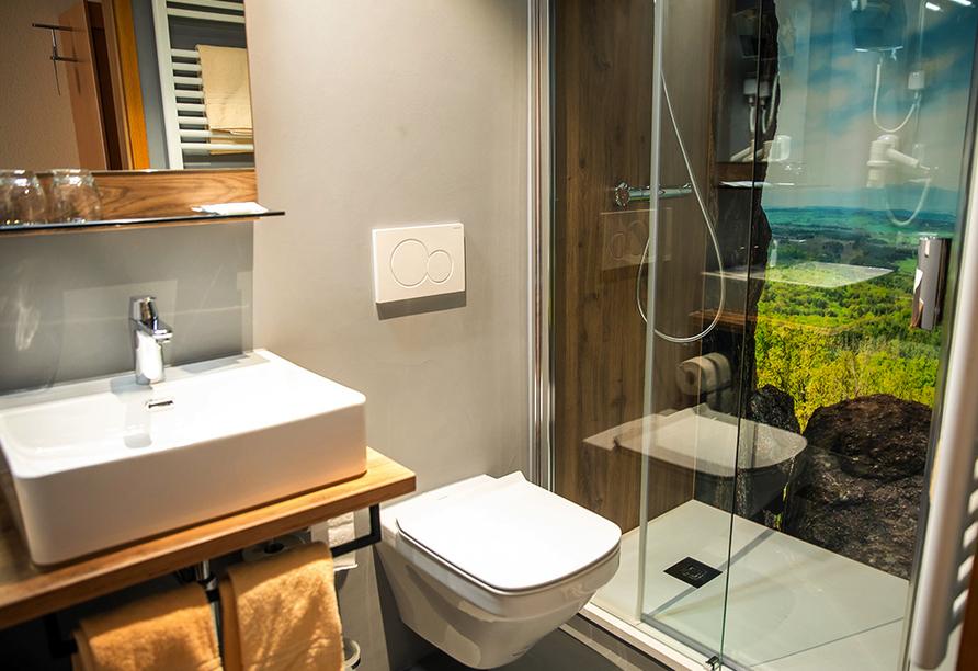 Hotel Löwen in Zell, Beispiel Badezimmer