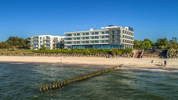 Baltivia Sea Resort in Mielno, Polnische Ostsee, Polen, Außenansicht