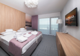 Baltivia Sea Resort in Mielno, Polnische Ostsee, Polen, Zimmerbeispiel Meerblick