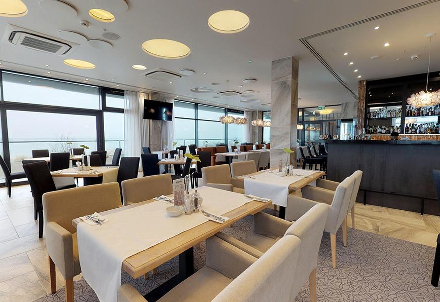 Baltivia Sea Resort in Mielno, Polnische Ostsee, Polen, Restaurant