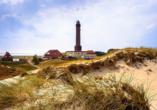 Ferienhaus Watt n Urlaub, Leuchtturm auf Norderney