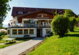 Panoramahotel Schwarzeck in Lohberg, Außenansicht