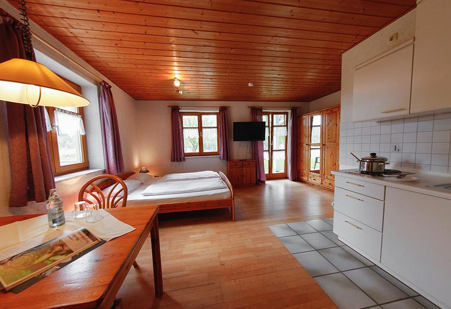 Panoramahotel Schwarzeck in Lohberg, Appartement
