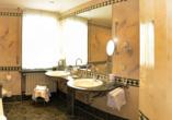 Hotel-Restaurant Erbprinz in Ettlingen, Beispiel Badezimmer