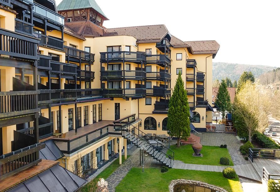 Parkhotel Luise in Bad Herrenalb, Außenansicht