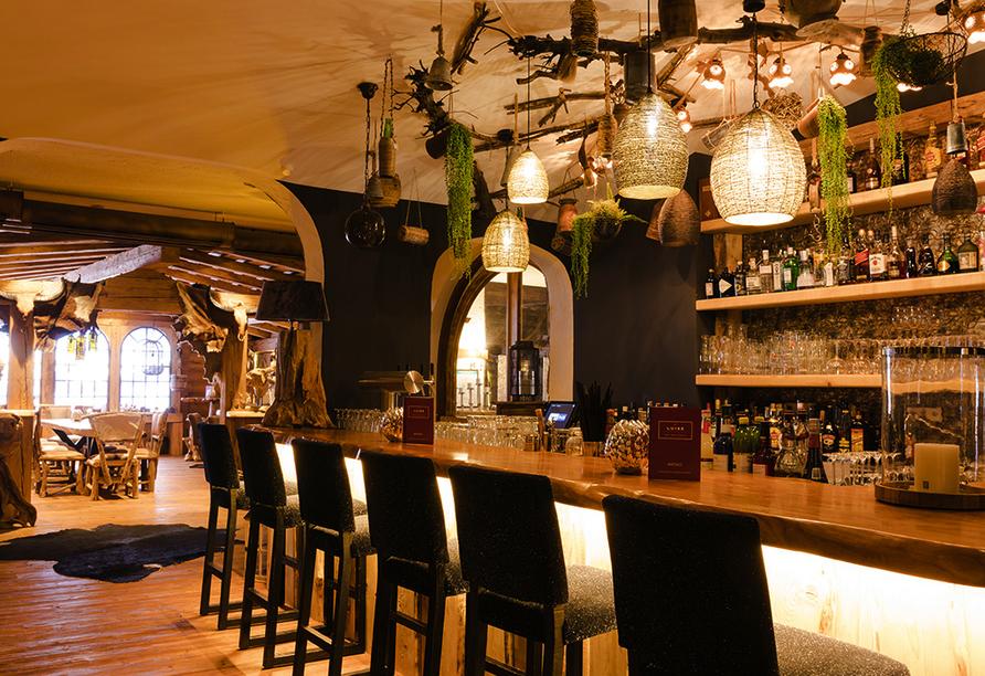 Parkhotel Luise in Bad Herrenalb, Bar-Theke