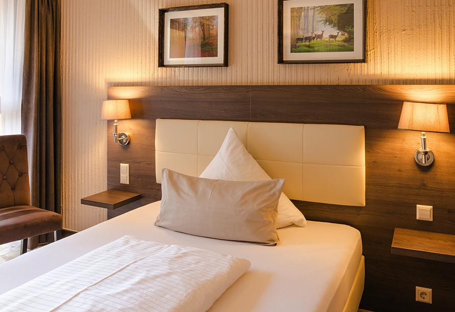 Parkhotel Luise in Bad Herrenalb, Beispiel Einzelzimmer