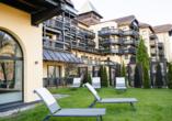 Parkhotel Luise in Bad Herrenalb, Sonnenterrasse
