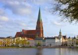 Plaza Schwerin, Stadtansicht Schwerin