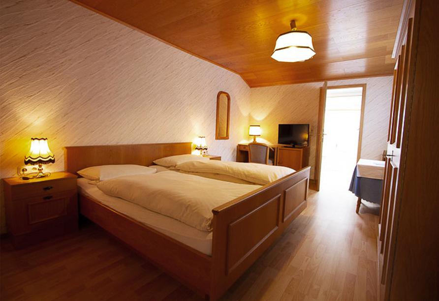 Hotel Schauenburg, Beispiel eines Doppelzimmers