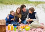 Ferienhaus Watt n Urlaub, Picknick in den Dünen