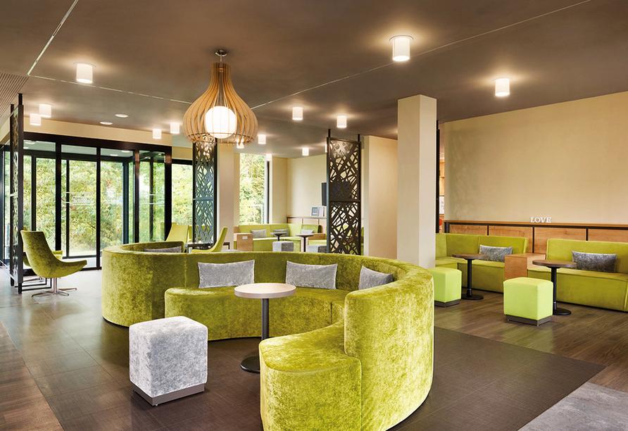 Super 8 by Wyndham Freiburg in Freiburg im Breisgau, Lobby