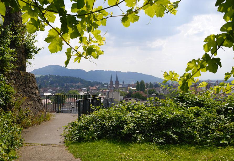 Super 8 by Wyndham Freiburg in Freiburg im Breisgau, Blick auf Freiburg im Breisgau