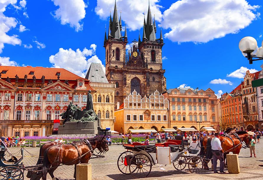 Hotel Troja in Prag, Tschechien, Prag