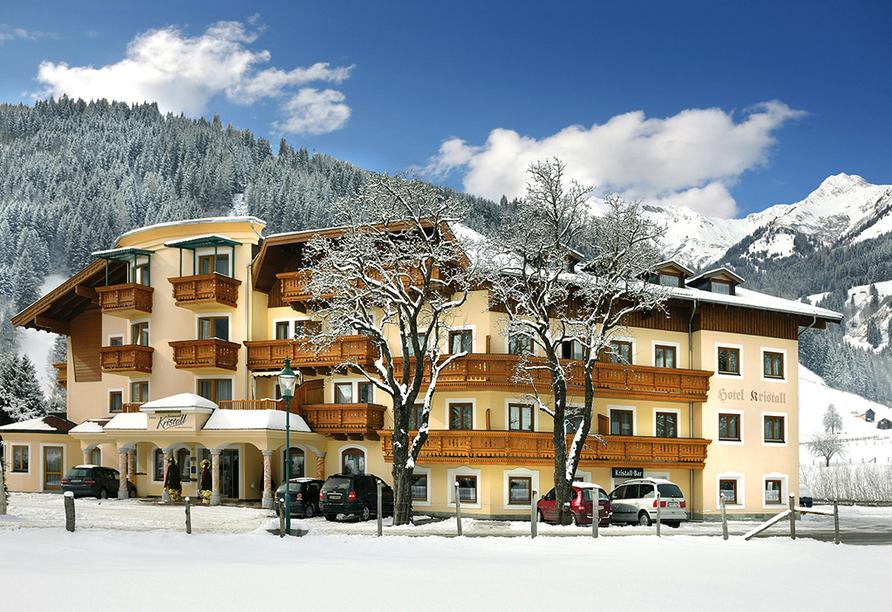 Hotel Ferienwelt Kristall in Rauris im Salzburger Land, Schneewelt
