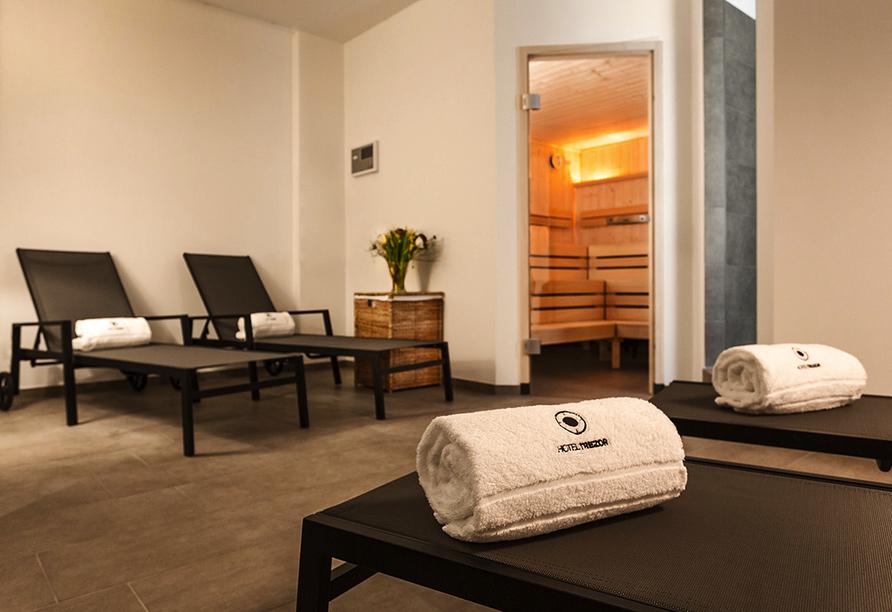 Hotel Trezor in Singen, Saunabereich