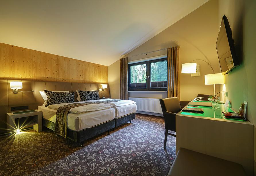 Hotel Heidegrund in Garrel, Zimmerbeispiel
