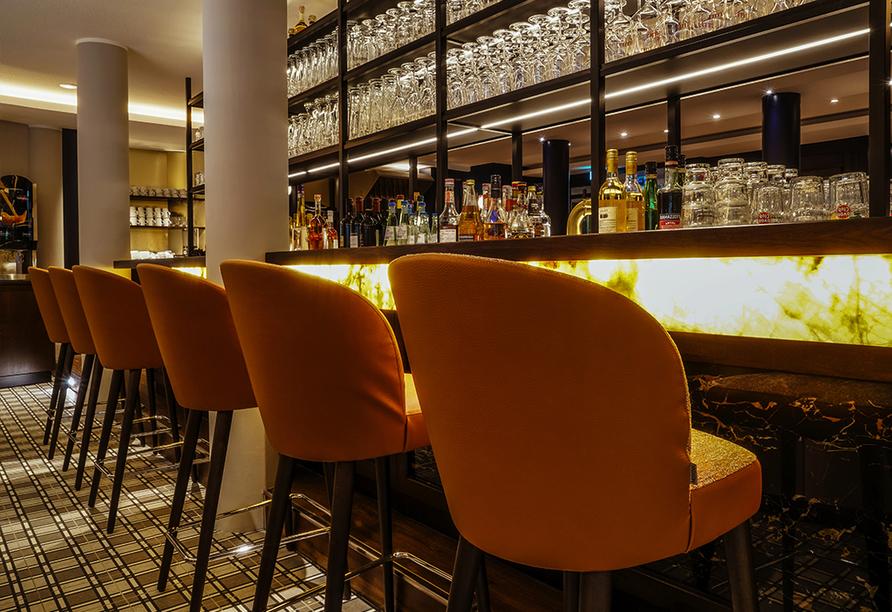 Hotel Heidegrund in Garrel, Bar