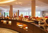 Hotel Heidegrund in Garrel, Frühstücksbuffet