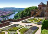 Dorint Hotel Würzburg, Garten der Festung Marienberg