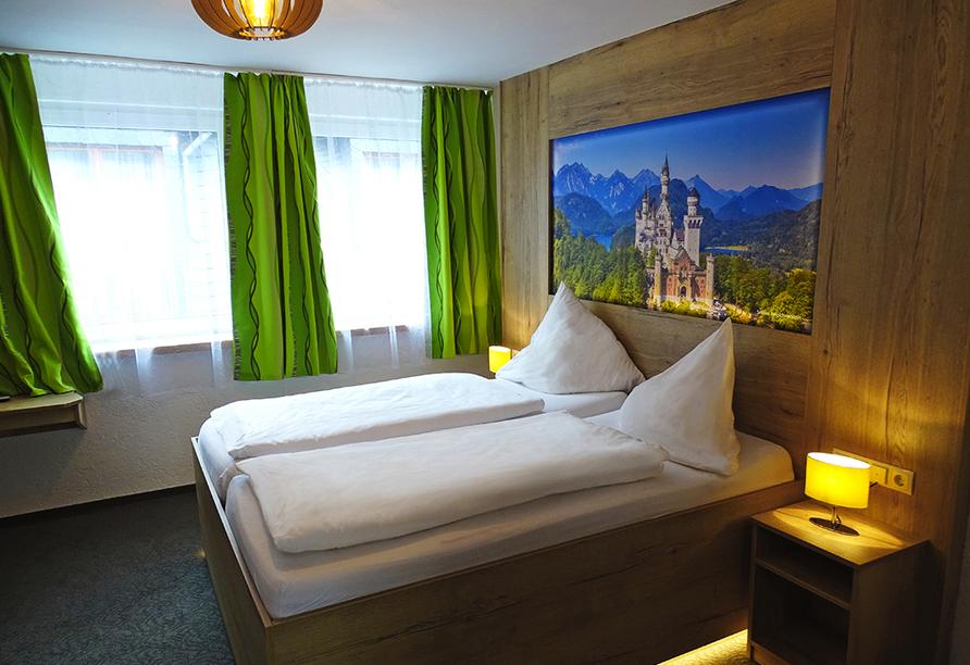 Moselhotel Burg-Café Alken, Zimmerbeispiel Doppelzimmer Komfort