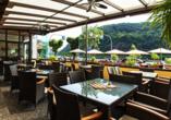 Moselhotel Burg-Café Alken, Wintergarten