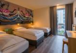 Bento Inn Munich Messe, Beispiel 3-Bett-Zimmer