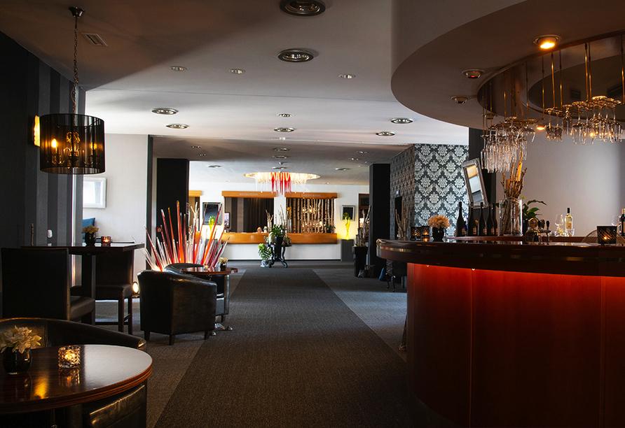 Parkhotel Morris Nový Bor in Tschechien Zimmerbeispiel