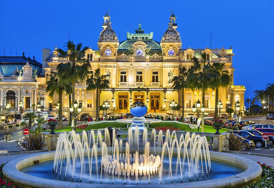 Rundreise Provence, Casino von Monaco