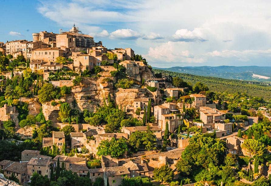 Rundreise Provence, Die Stadt Gordes