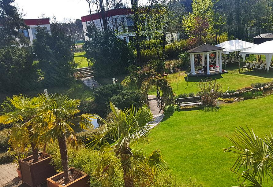 The Lakeside Burghotel zu Strausberg, Romantikgarten
