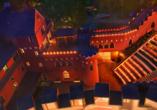 The Lakeside Burghotel zu Strausberg, Außenbeleuchtung abends