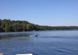 The Lakeside Burghotel zu Strausberg, Boot auf Straussee