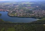 The Lakeside Burghotel zu Strausberg, Luftansicht Strausberg