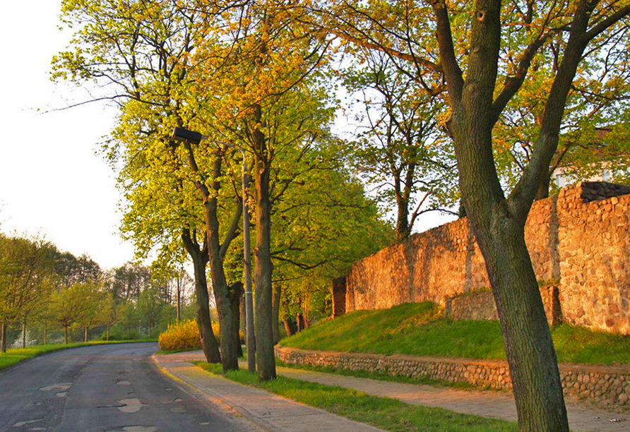 The Lakeside Burghotel zu Strausberg, Stadtmauer