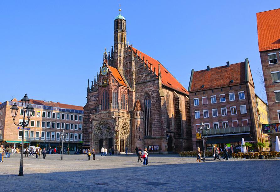 NOVINA HOTEL Südwestpark in Nürnberg, Frauenkirche