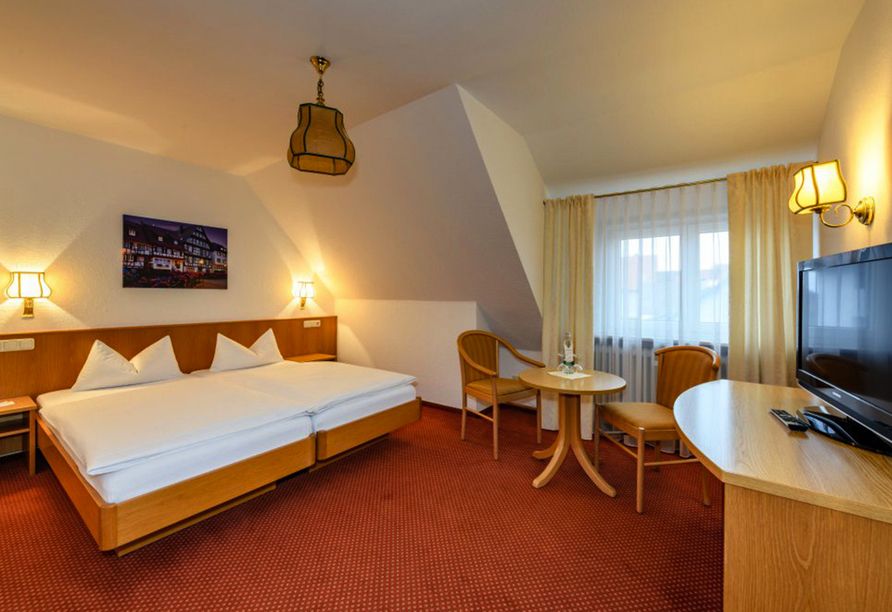 Ringhotel Pflug in Oberkirch, Beispiel Doppelzimmer Standard