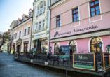 Hotel Morris in Ceska Lipa, Außenansicht