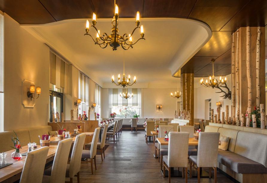 Hotel Vier Jahreszeiten in Garmisch-Partenkirchen, Restaurant