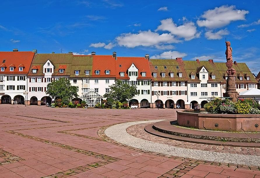 Der Marktplatz von Freudenstadt ist der größte Marktplatz Deutschlands.