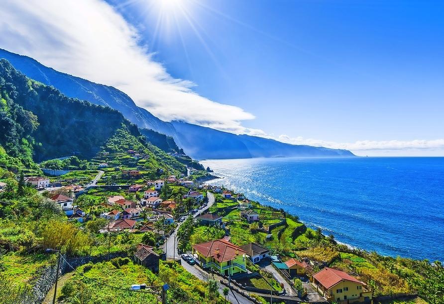Hotel Vila Baleira Funchal Madeira, Inselansicht