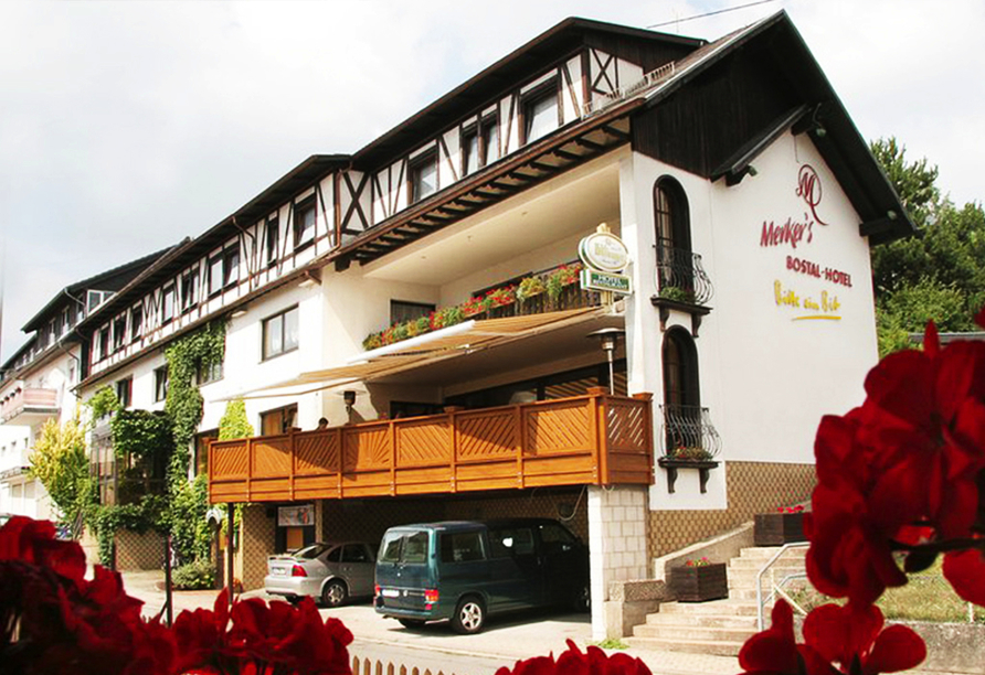 Herzlich willkommen im Merker's Bostal-Hotel!