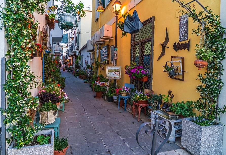 Hotel Terme Villa Teresa, Gasse Ischia