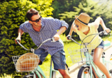 In den Niederlanden fährt nahezu jeder Fahrrad – Ihre Urlaubsregion bietet sich perfekt für gemütliche Ausflüge mit dem Fahrrad an.
